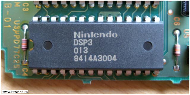 Switch SNES > Chips interne des cartouches de jeux Super Nintendo